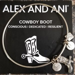 Alex & Ali Bracelet Cowboy Boot